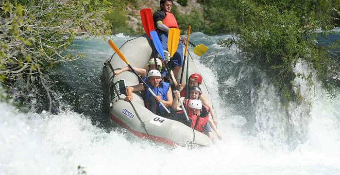 Rafting in Kroatien